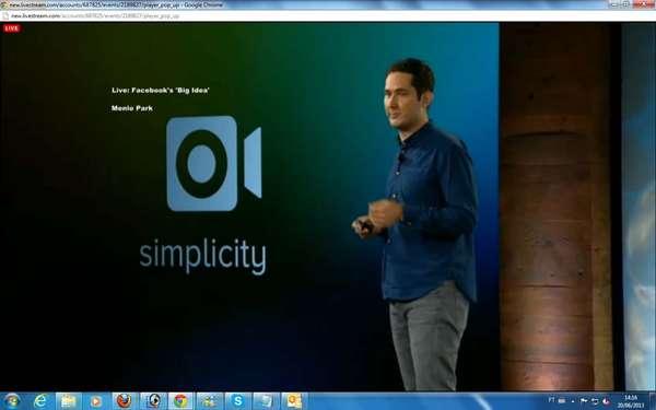 O Facebook lançou nesta quinta-feira, em evento em sua sede em Menlo Park, na Califórnia, uma ferramenta de vídeo do Instagram. O CEO do Instagram, Kevin Systrom, anunciou a novidade