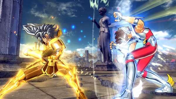 Exclusivo para PS3, 'Os Cavaleiros Do Zodiaco: Bravos Soldados' é o novo jogo de luta da série de anime, que chega em novembro com legendas em português