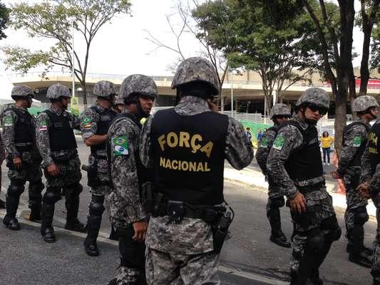 A cidade de Belo Horizonte já começa a se preparar para uma nova onda de manifestações na tarde deste sábado (22), nas redondezas do Mineirão