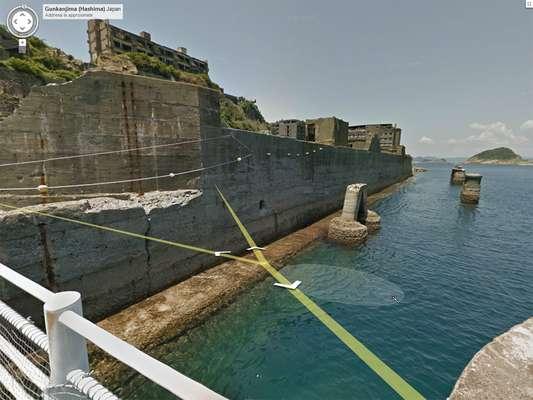 Google mandó a su equipo de Street View - herramienta que proporciona imágenes panorámicas a nivel de calle - a uno de los sitios más aislados del mundo, la isla japonesa Gukanjima.