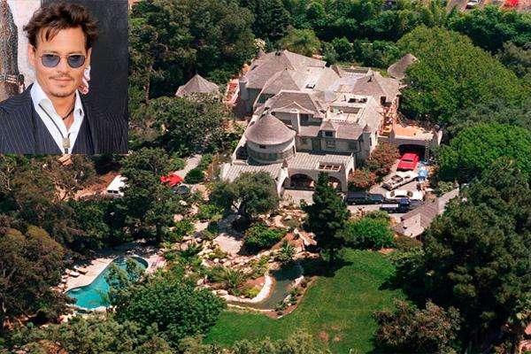 Resultado de imagem para A Casa de Johnny Depp em los angeles