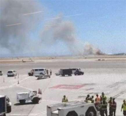 Un avión de la empresa Asiana Airlines se estrelló en San Francisco, Estados Unidos.