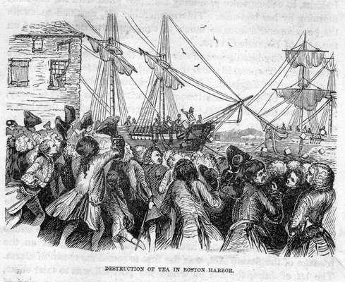 Descontando-se os inúmeros e praticamente incontáveis levantes de massas que ocorreram na história da humanidade, sob o ponto de vista da época contemporânea, pode-se fixar sua erupção na política a partir de dois eventos muito próximos. Um deles, a Boston Tea Party (A Festa do Chá em Boston, que ocorreu em 1773), um tanto antes da eclosão da Revolução Americana (1776-1783)