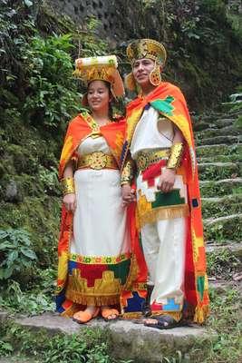 O Arac Masin, oucasamento andino,é tradicional nas regiões altas e no sul do Peru