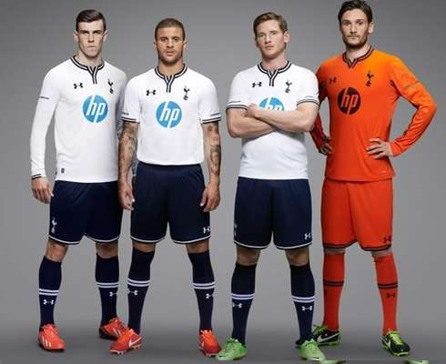Premier League uniforms continue to be released, the latest was Tottenham's home and away jerseys, though the release was more newsworthy due tothe pressence of Gareth Bale.