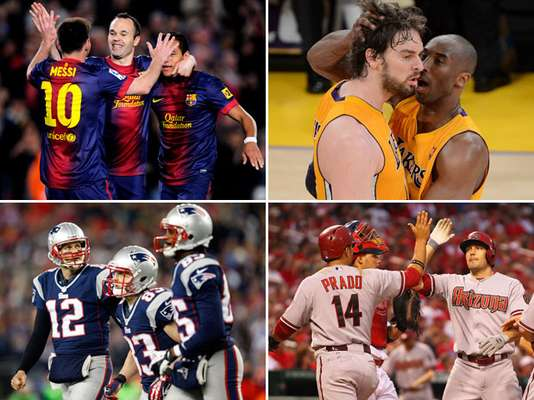A revista Forbes divulgou nesta segunda-feira os 50 times esportivos mais valiosos do planeta. A lista tem uma enxurrada de equipes de esportes americanos, como futebol americano e beisebol, mas é liderada por gigantes do futebol europeu. Confira: