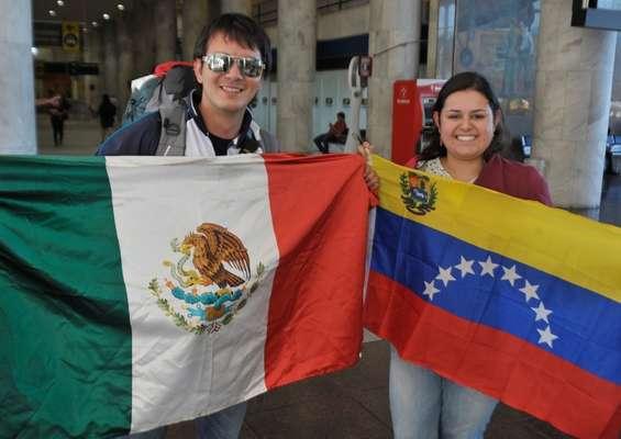 Milhares de voluntários começaram a chegar ao Rio para participar da Jornada Mundial da Juventude (JMJ), entre os dias 23 e 28 deste mês