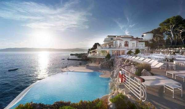 1. Hotel du Cap Eden-Roc, Antibes, FrançaTradicional cidade da Riviera Francesa, Antibes é um destino charmoso e perfeito para curtir esta região ensolarada