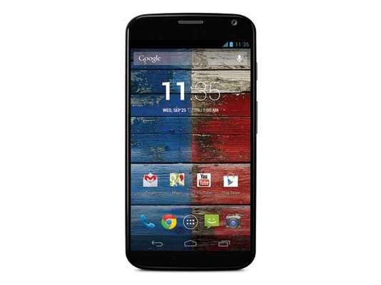 """Moto X é o primeiro smartphone da Motorola com a """"cara do Google"""" lançado após a compra da fabricante de smartphones em agosto de 2011"""