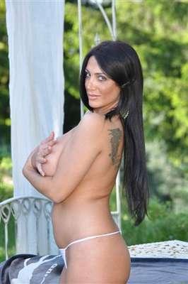Marika Fruscio, torcedora fanática do Napoli e apresentadora de TV italiana