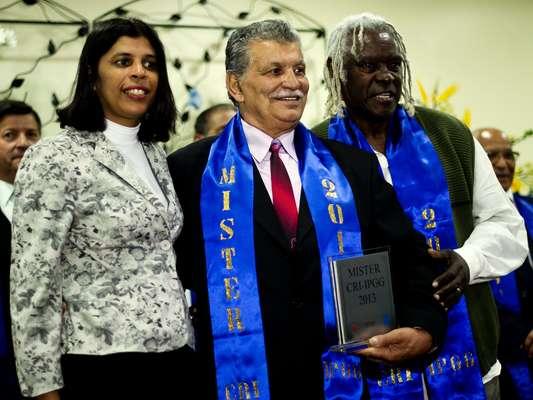 O bombeiro aposentado Ulisses Viana Morais, de 73 anos, foi eleito o mais belo idoso da cidade de São Paulo durante o concurso realizado nesta quinta-feira (8) pela Secretaria de Estado da Saúde