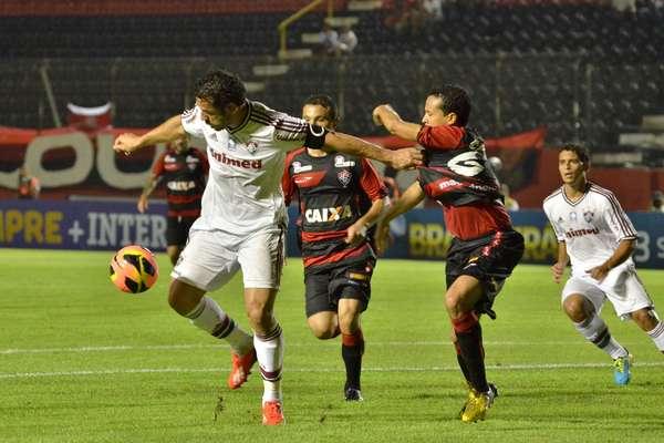Com gol de Fred no segundo tempo, o Fluminense arrancou empate por 1 a 1 contra o Vitória em Salvador, pelo Campeonato Brasileiro