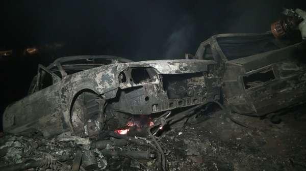 Pátio particular que guarda veículos apreendidos foi atingido por incêndio na última quarta-feira em Cotia, na Grande São Paulo