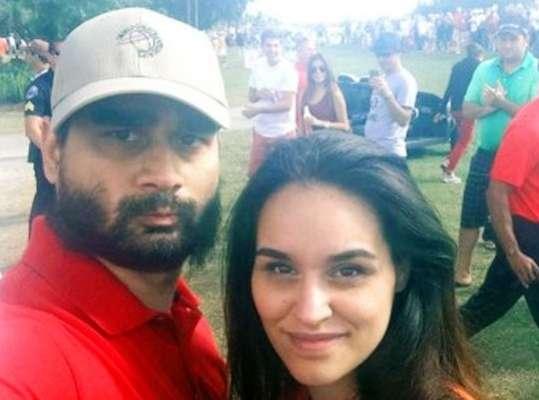 Derek Medina com a mulher em foto do Facebook do ator. O ator matou a esposa nesta quinta-feira em Miami e revelou o crime no Facebook, onde postou fotos do corpo da mulher ensanguentado