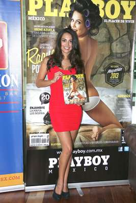 (D) PLAYBOY MEXICO RAQUEL POMPLUN AGOSTO AUGUST 2013 PLAYBOY MEXICAN EDITION