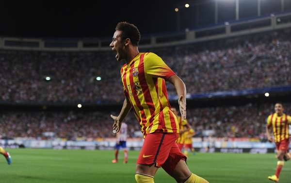 Gol de Neymar foi de cabeça, pouco usual para o jogador
