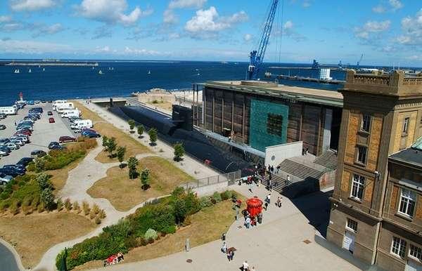 Cherbourg, no litoral francês, tem uma história rica. Já foi invadida por vikings e também foi campo de batalha durante a invasão da Normandia pelas tropas aliadas na Segunda Guerra Mundial