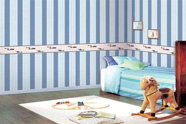 Decoraci n infantil c mo pintar paredes a rayas - Pintar paredes a rayas horizontales ...