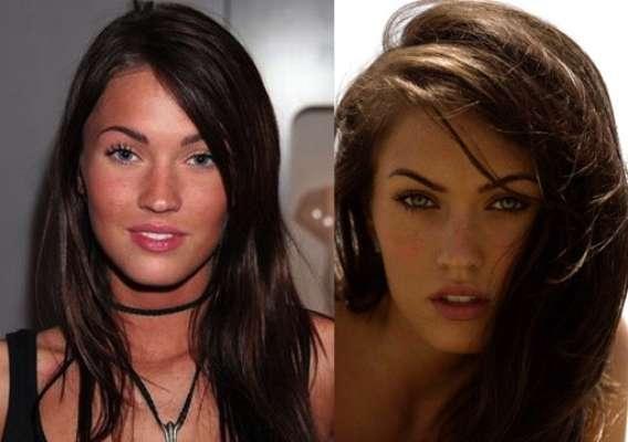 La actriz y modelo Megan Fox es una mujer que transmite sensualidad y belleza. La actriz se arregló la nariz hace algunos años.