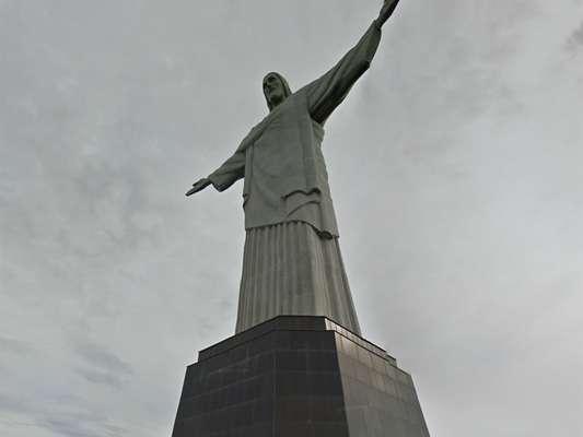 Mapeamento do cartão posta carioca, no alto do morro do Corcovado, iniciou em abril deste ano