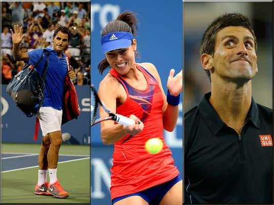 El último Grand Slam del año está por terminar y además de buen tenis hemos disfrutado de pintorescos retratos.