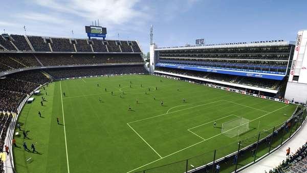Mesmo com 20 times brasileiros e um dos mercados mais cativos, o 'Fifa 14' excluiu de sua lista os estádios nacionais. Na foto: La Bombonera, do time argentino Boca Juniors
