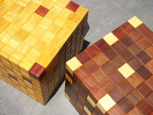 O arquiteto já participou com o cubo da Feira do Empreendedor