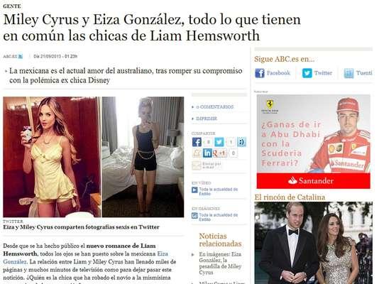 La imagen de Eiza González le dio la vuelta al mundo desde que se supo que salió con Liam Hemsworth y hasta se besó con él.