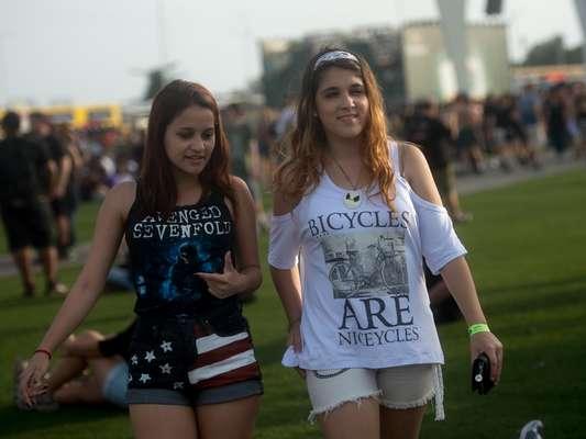 Segundo dia do metal no Rock in Rio trouxe os fãs mais insanos à Cidade do Rock, neste domingo (22)