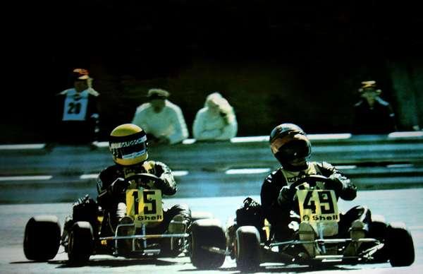 Em entrevista de 1993, Ayrton Senna aponto Terry Fullerton como seu melhor rival ao longo da carreira. Os dois foram companheiros de equipe no kart europeu, entre 1978 e 1980, antes que o brasileiro fosse promovido às categorias de base dos monopostos. Confira imagens da rivalidade entre Senna (à esquerda) e Fullerton (à direita):