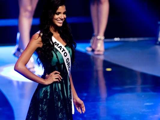 Representante do Mato Grosso, Jakelyne Oliveira, 20 anos, foi eleita Miss Brasil 2013 na noite desse sábado (28), no Minas Centro, em Belo Horizonte (MG)