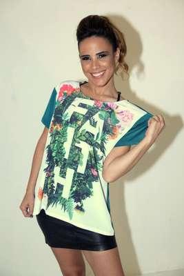 A cantora Wanessa e um time de famosas foram clicadas para a campanha Anjos da Moda