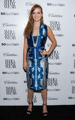 A atriz Ahna O'Reilly foi eleita uma das mais estilosas do ano por site americano