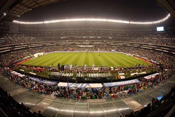 El estadio azteca en df de los m s grandes del mundo for Puerta 1 estadio azteca
