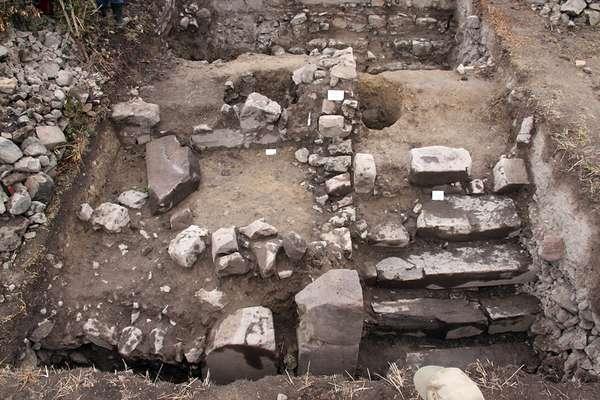 Templo de 3 mil anos servia como recinto secreto onde os sacerdotes celebravam cultos aos seus deuses