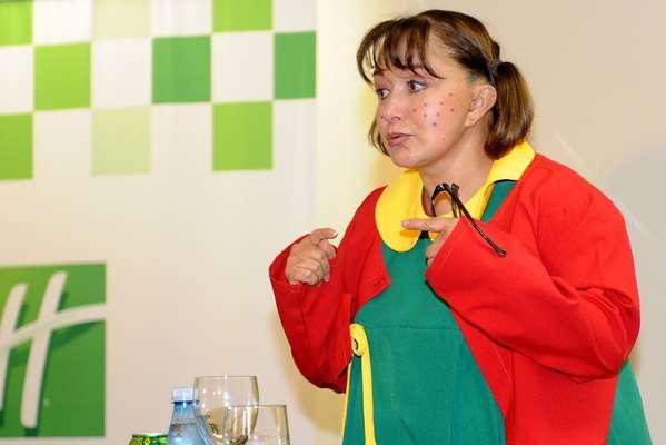 atriz mexicana Maria Antonieta de las Nieves, intérprete de Chiquinha no seriado Chaves, está no Brasil para realizar dois shows, um em São Paulo e outro no Rio de Janeiro