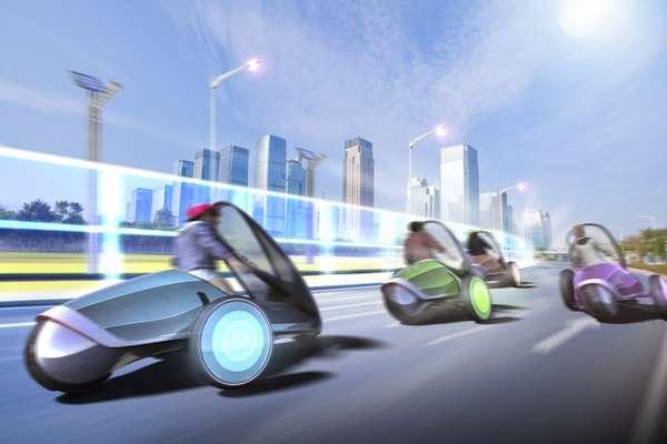 Carro FV2 da Toyota promete ler as emoções do motorista, mudando de cor conforme o humor e nível de estresse. Modelo, que conta com sistema de realidade aumentada, pode ser dirigido apenas com o corpo e em pé