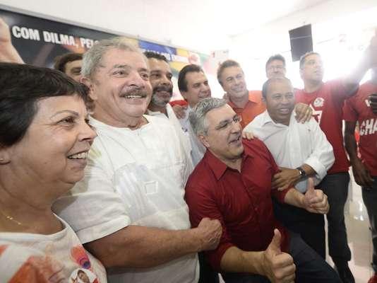 O presidente participou do processo eleitoral do Partido dos Trabalhadores