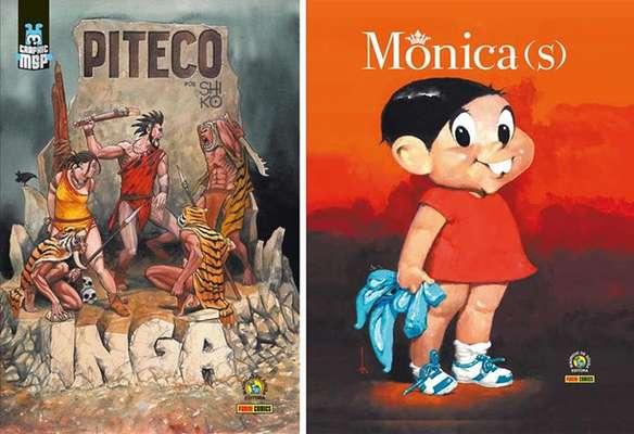 A graphic novel 'Piteco - Ingá', de Chico Shiko, e o livro 'Mônica (s)' serão apresentados por Sidney Gusman na FIQ 2013