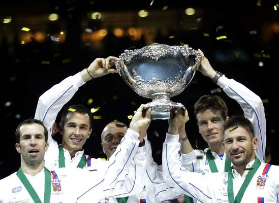 República Checa se consagra com o título da Davis pelo segundo ano seguido
