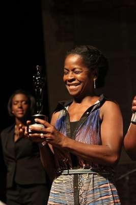 Na noite de domingo (17), aconteceu o Troféu Raça Negra 2013, no Memorial da América Latina, em São Paulo. Na foto, Zezé Barbosa
