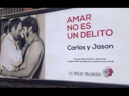 Carlos Galdós y Jason Day, Jorge Benavides y Carlos Zegarra, Kenji Fujimori y Miguel Conejo Rebossio, entre otros personajes causan revuelo en las redes. Fotografías de estas parejas compartiendo afecto han inundado Internet ¿el motivo? pues formar parte de una campaña contra la homofobia.