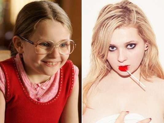 Abigail Breslin começou a carreira quando tinha apenas seis anos, no filme 'Sinais' (2002), estrelado por Mel Gibson. A atriz, no entanto, ficou famosa ao protagonizar 'Pequena Miss Sunshine' (2006). Seu mais recente trabalho lançado foi 'Ender's Game - O Jogo do Exterminador', de 2013