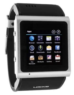 Fabricante brasileira lança relógio Android que funciona como celular