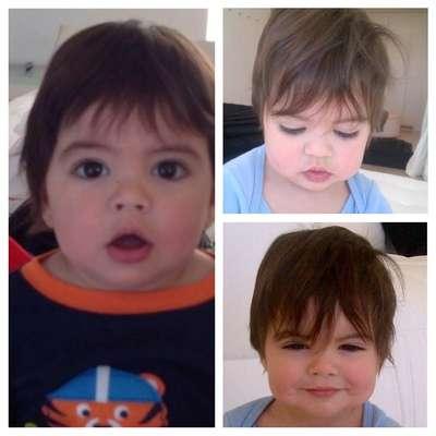28 de Noviembre - Shakira publicó esta adorable foto de su pequeño hijo Milan para desearles a todos sus fans un feliz Thanksgiving. ¡Adorable!