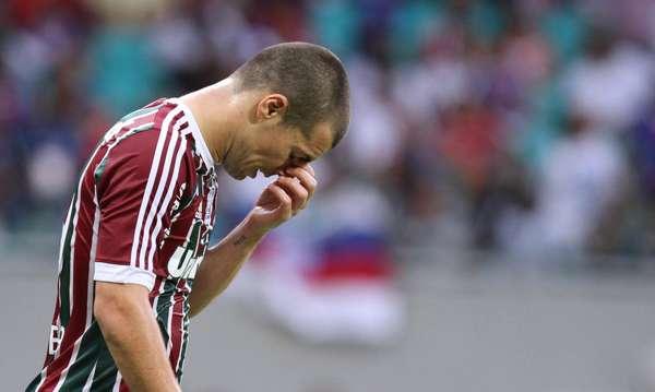 O Fluminense venceu o Bahia por 2 a 1, mas só teve motivos para lamentar uma tragédia: pela terceira vez na história, o time tricolor foi rebaixado no Campeonato Brasileiro