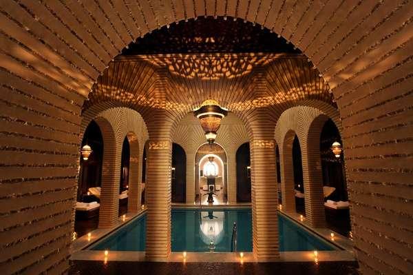 Atlético-MG reservou com exclusividade um palacete na região periférica de Marrakech. O hotel cinco estrelas que receberá o time atleticano tem até um haras com cavalos árabes puro-sangue
