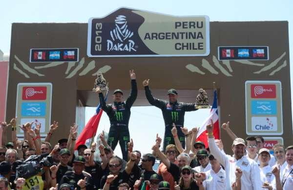 MINI fue el gran ganador de la competencia de autos en el Rally Dakar 2013, al quedarse con el primer y tercer lugar de la mano de las duplas de los franceses Peterhansel-Cottret y los rusos Novistkiy- Zhiltsov, respectivamente.