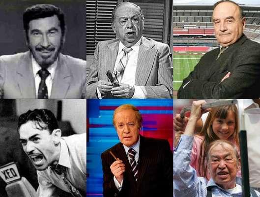 La muerte de Pedro 'Mago' Septién deja un vacío tremendo en la crónica deportiva mexicana. A continuación, nuestros mejores exponentes de ayer y hoy.