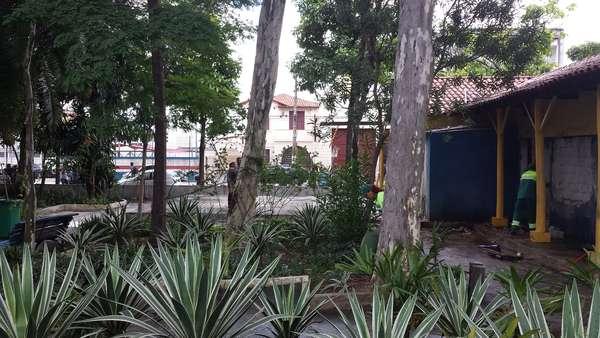 17 de janeiro - Após retirada dos dependentes químicos, o largo Coração de Jesus, na Cracolândia de São Paulo, será reformado pela prefeitura e terá uma base fixa da Polícia Militar